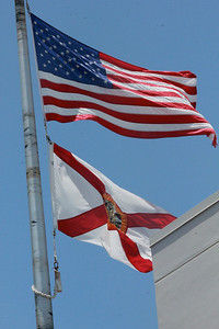 April 28 - May 5, 2014 (United State & Florida Flags / Florida) -- Flags