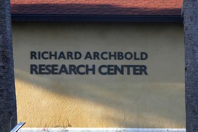 April 29, 2014 - (Archbold Biological Station / Venus, Highlands County, Florida) -- Signage
