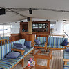Aft upper deck lounge and bar