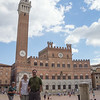 Greg and Katie in Piazza del Campo