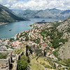View of Kotor from fort