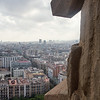 barcelona from a cathedral tower