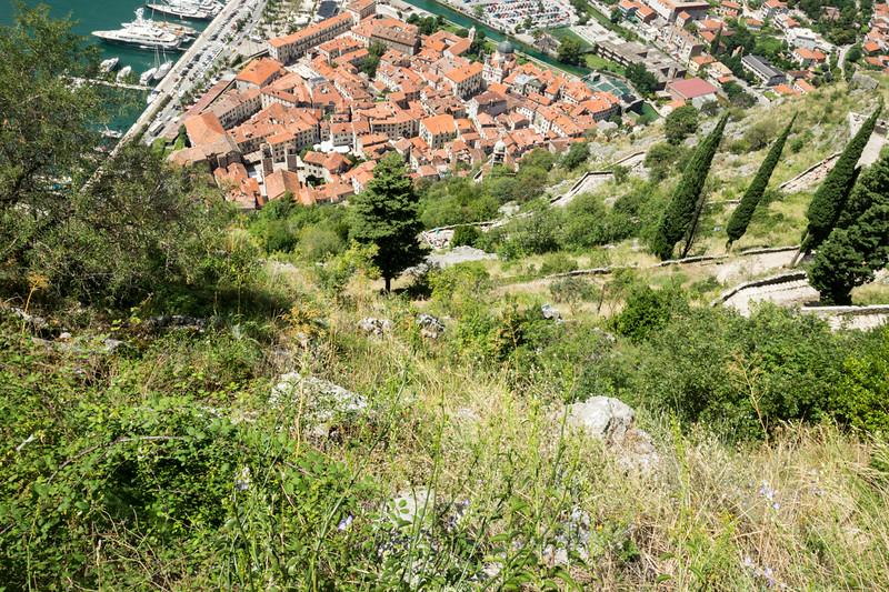 Walkway down to Kotor