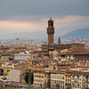 Florence, from Michelangelo Square