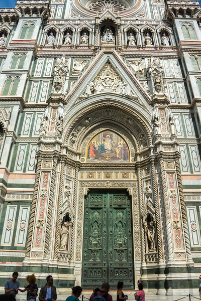 Entrance to The Duomo