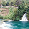 Panorama of some of the waterfalls