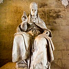 Statue of a pope