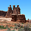 Arches National Park: Three Nuns