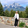 JoAnn at the Snake River Overlook