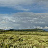 Panorama of the Teton Wilderness looking toward the Absaroka Range