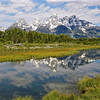 The Grand Teton and Reflections