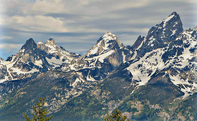 South, Middle, and Grand Teton