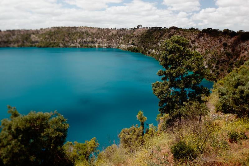Blue Lake, Mount Gambier, South Australia.