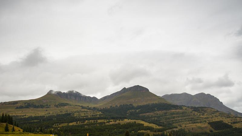 More cloudy rainy views
