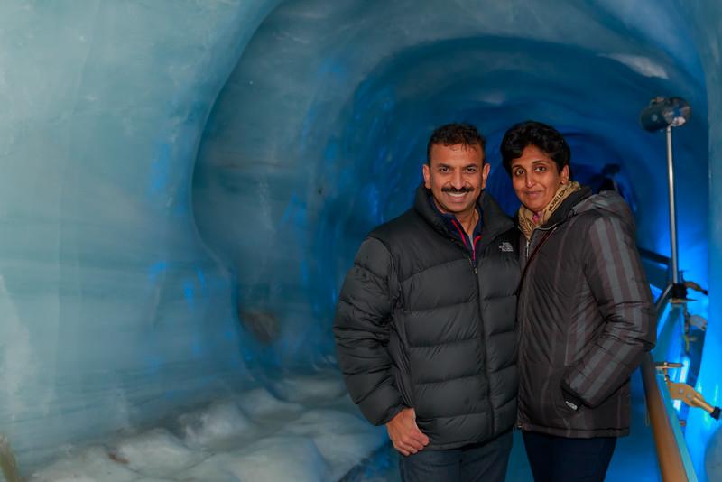 Mt. Titlis - Glacier Cave