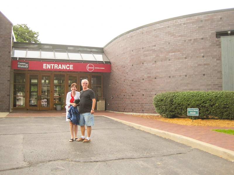 Entrance to Studebaker National Museum