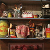 Sample of Antiques on Display at Famous Dave's