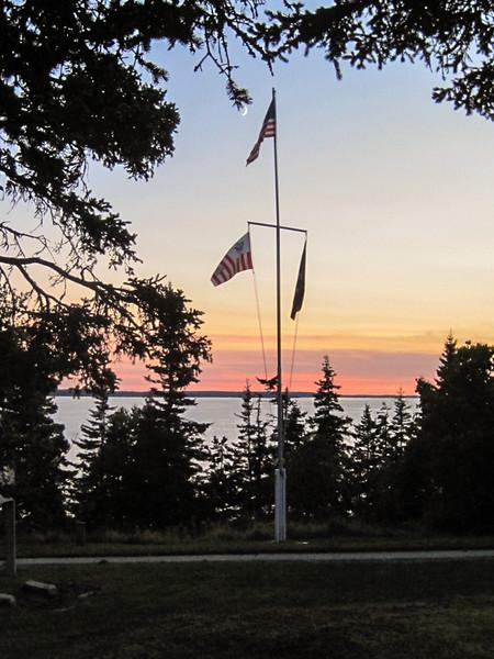 Bass Harbor Flag Pole