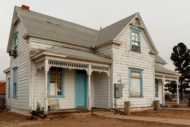 Abandoned historic fixer-upper