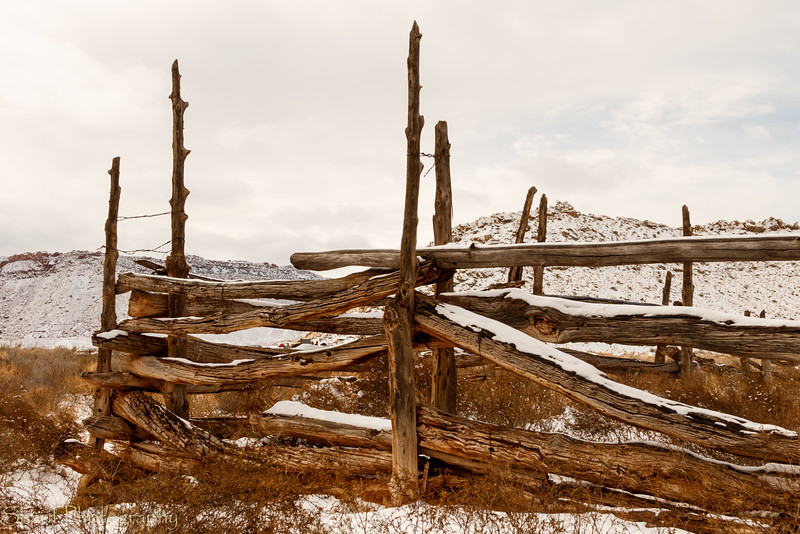 Fence of Wolfe Ranch