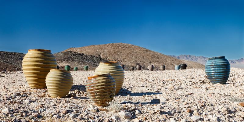 Pottery in the desert