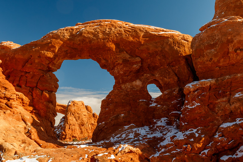 Turret Arch and South Window