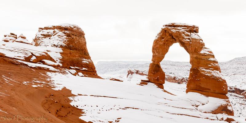 Delicate Arch - symbol of Utah