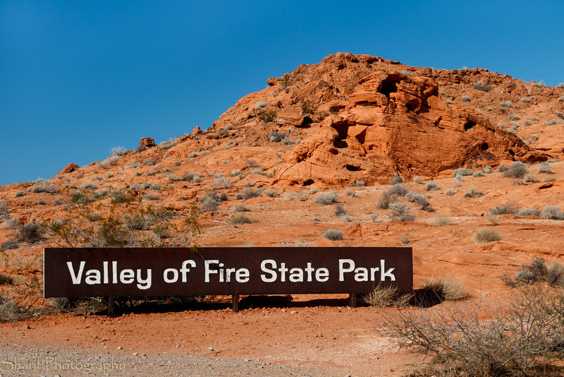 Valley of Fire, just outside of Las Vegas