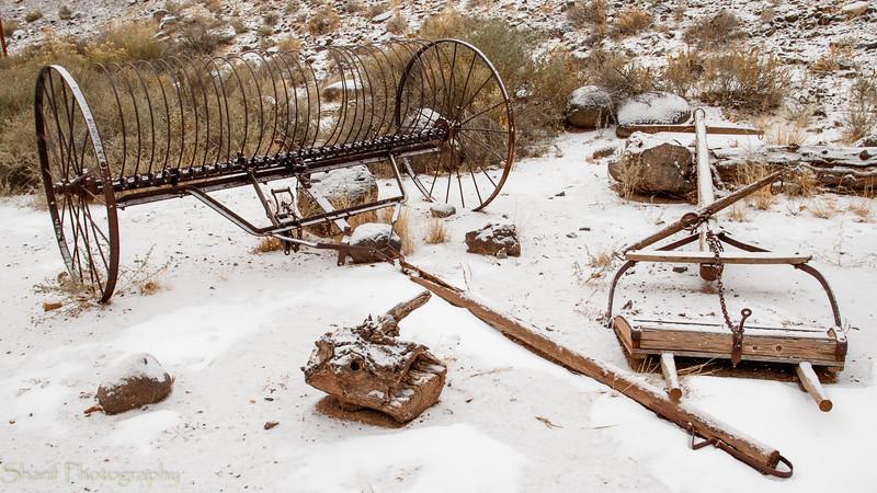 More obsolete farming equipment