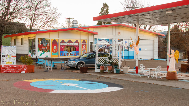 A gas station converted to more spiritual purposes