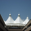 Denver Airport - distinctive roof to the main terminal