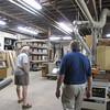 a tour of Woden Woods shop