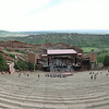 the amphitheater.  The tech rehearsal  was setting up for that night's 6/14/14 performance - Rock band O.A.R. and Platinum-selling recording artist and AMERICAN IDOL Season 11 winner Phillip Phillips