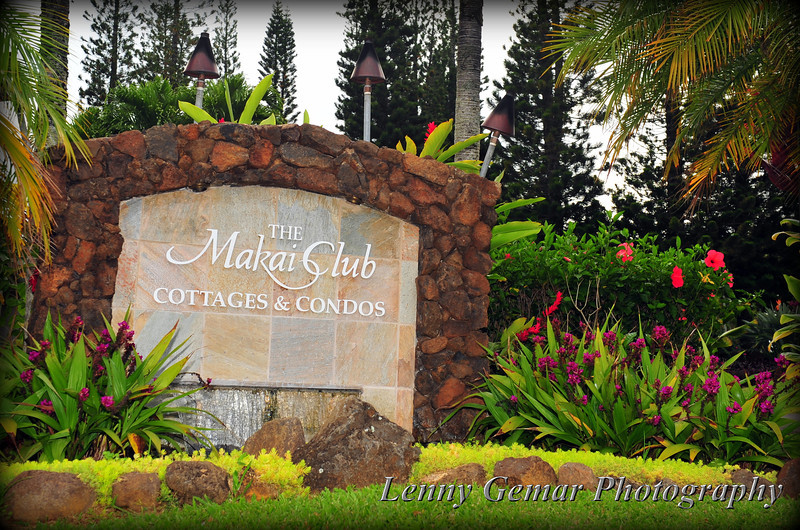 The Makai Club, Princeville, Kaua'i, Hawai'i.  Our home for the week.