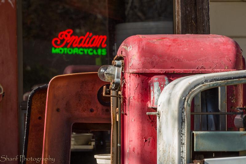 Fiddletown junkyard.