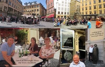 2015 Walking around Stockholm Baltic Cruise
