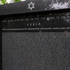 Monument dedicated to the Karlsruhe residents that were exterminated in the Holocaust. My Granparent's names are included.