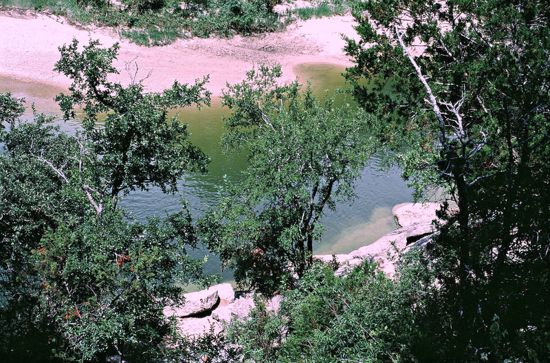 Paluxy River - Visible Dinosaur Tracks