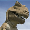 T-rex Model Closeup