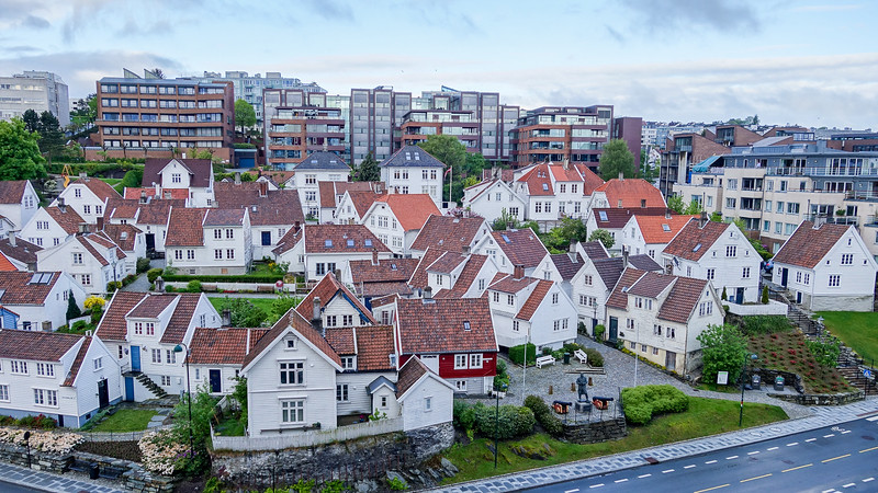 Arriving in Stavanger, Norway
