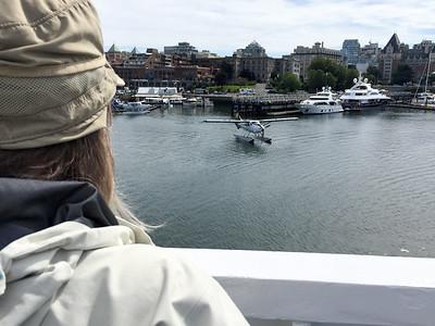Seaplane at Victoria Harbor
