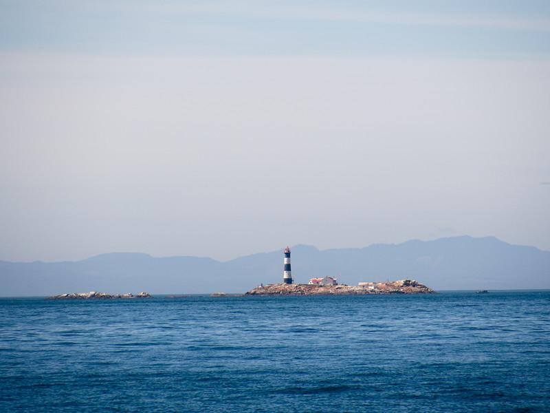 Race Rocks LIghthouse off of Vancouver Island