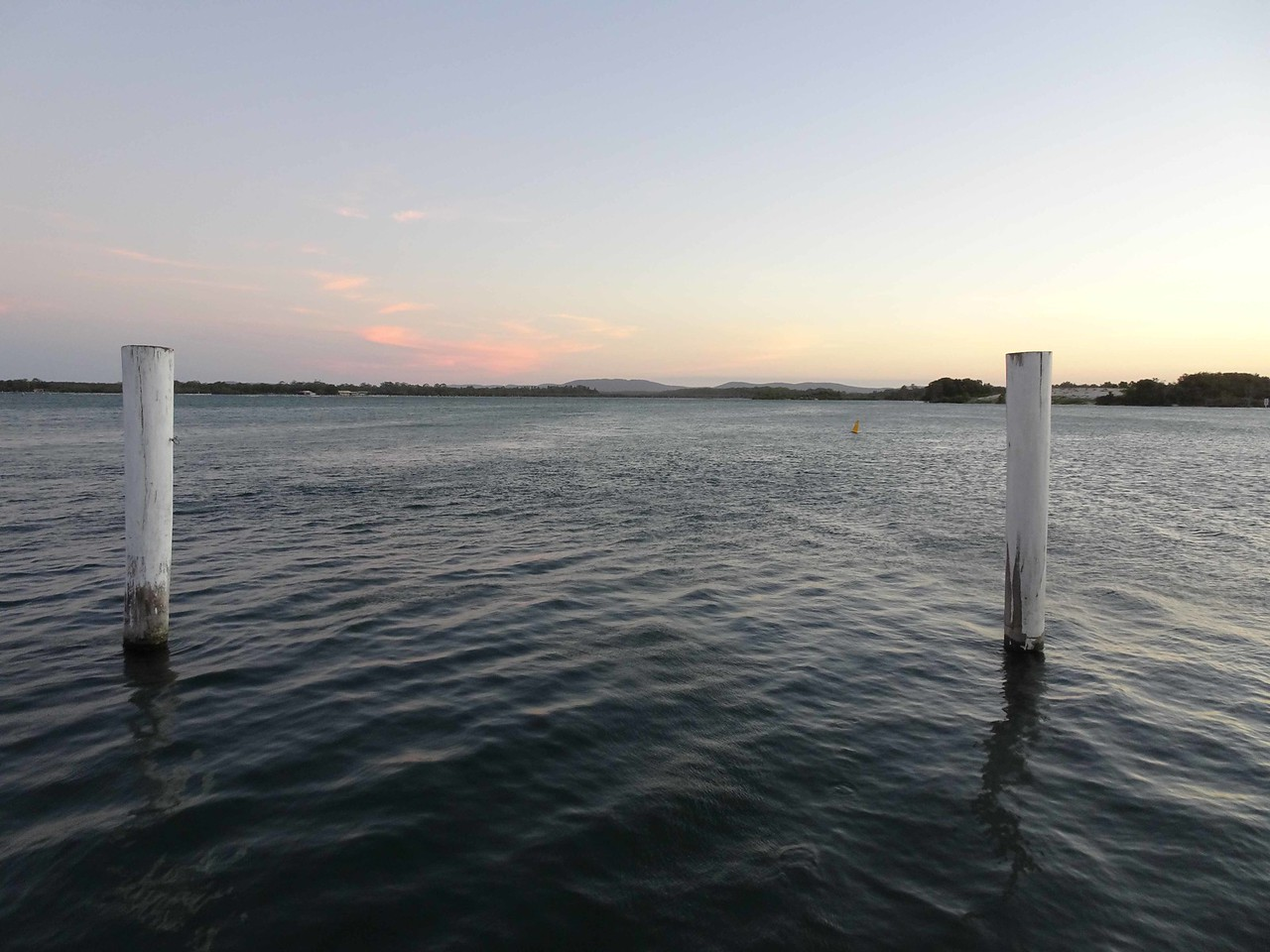 711 The water at Hamilton's Restaurant in Tuncurry