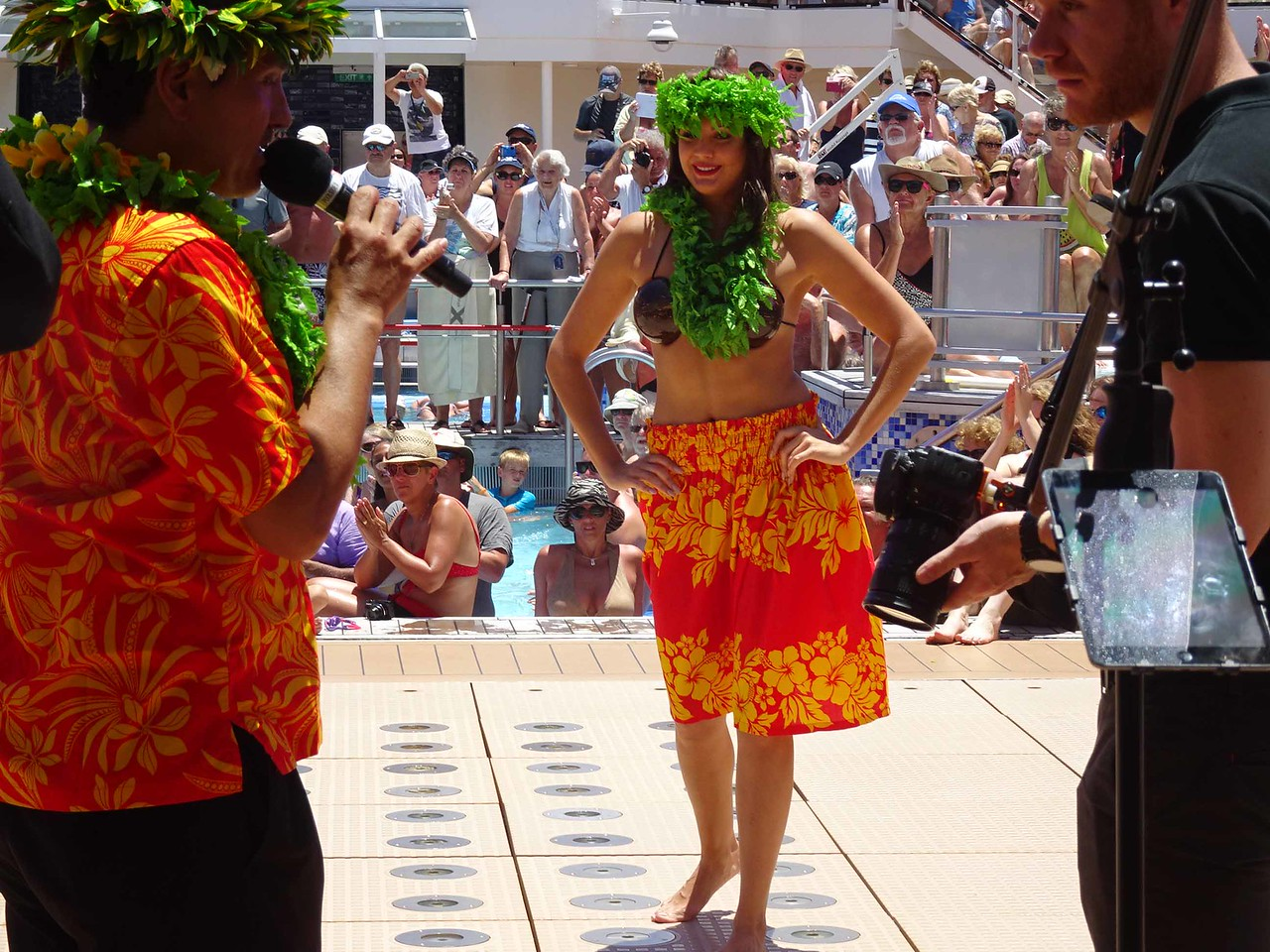 1026 The Crossing the Equator Poolside Party