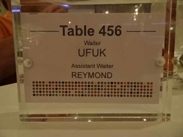 852 Waiters tonight
