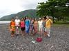 881 Tahiti girls with Alice Hoffman, Sue & Bruce Rodman