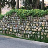 May 9, 2016  Rock wall on the street