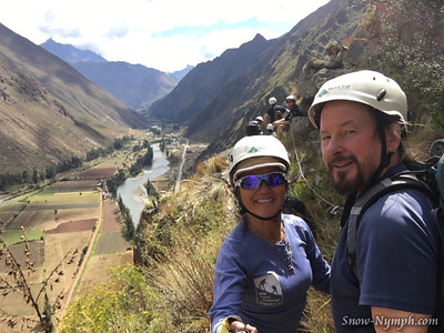 2016-05-11  Day 4 - Via Ferrata Climb and Zip Line in Sacred Valley, Peru