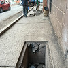 May 12, 2016  Lots of holes to fall into on the sidewalk