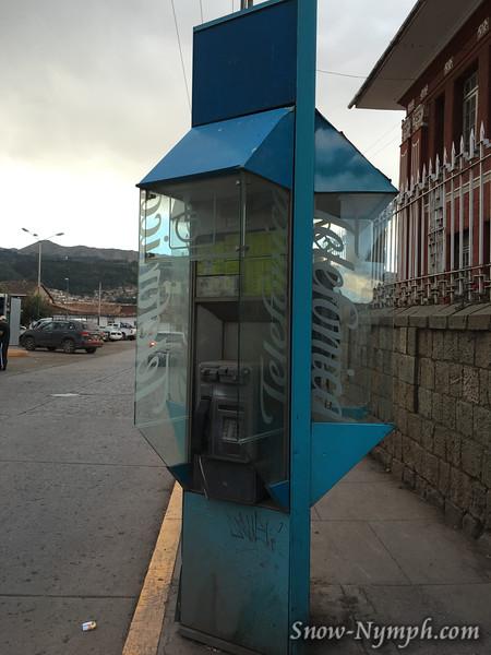 May 12, 2016  Public phones in Peru